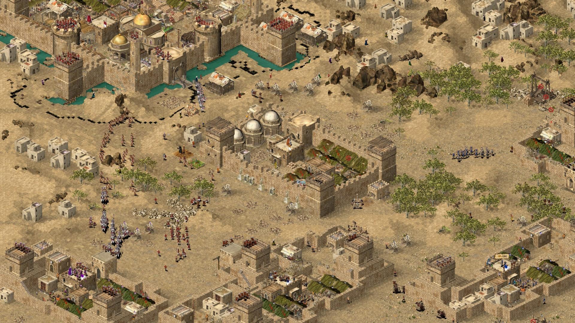 سی دی کی اریجینال استیم بازی Stronghold: Crusader HD