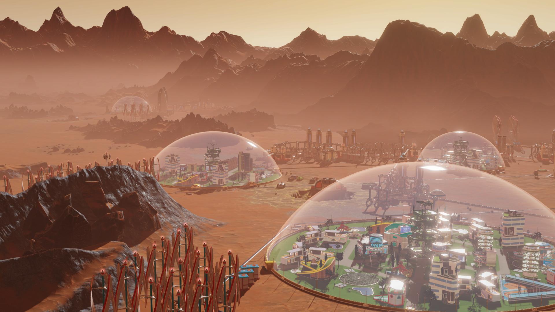 سی دی کی اریجینال استیم بازی Surviving Mars - First Colony Edition
