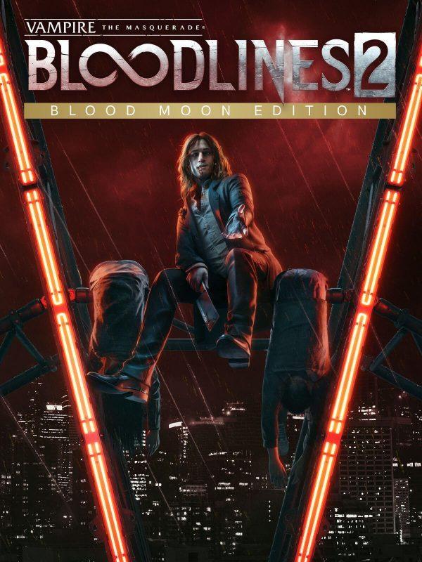 سی دی کی اریجینال استیم بازی Vampire: The Masquerade - Bloodlines 2: Blood Moon Edition