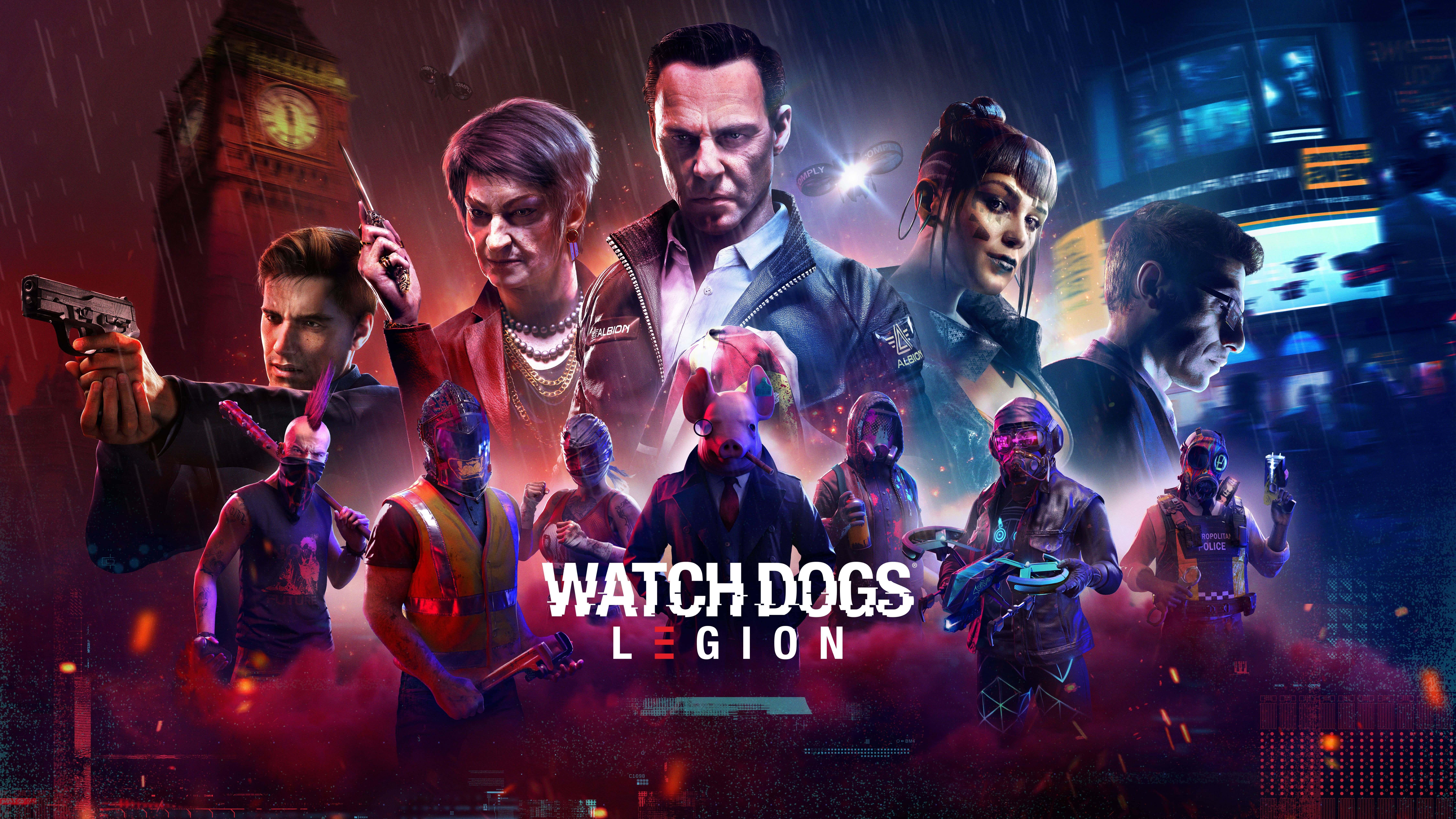 سی دی کی اریجینال یوپلی بازی Watch Dogs: Legion