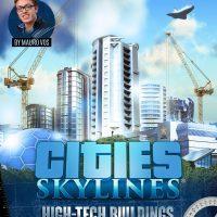 سی دی کی اریجینال استیم Cities: Skylines - Content Creator Pack: High-Tech Buildings