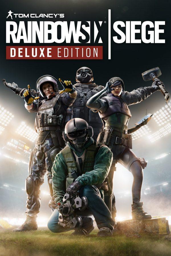 سی دی کی اریجینال یوپلی بازی Tom Clancy's Rainbow Six Siege Deluxe Edition