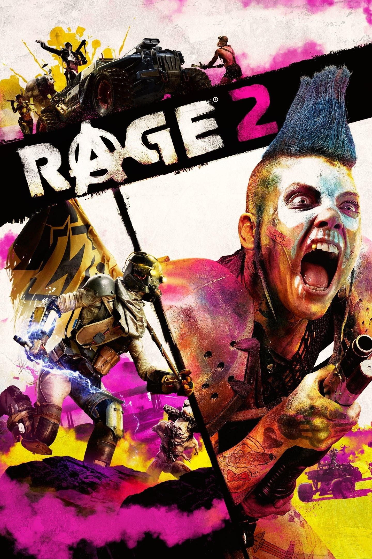 اکانت اریجینال بازی Rage 2 | با ایمیل اکانت