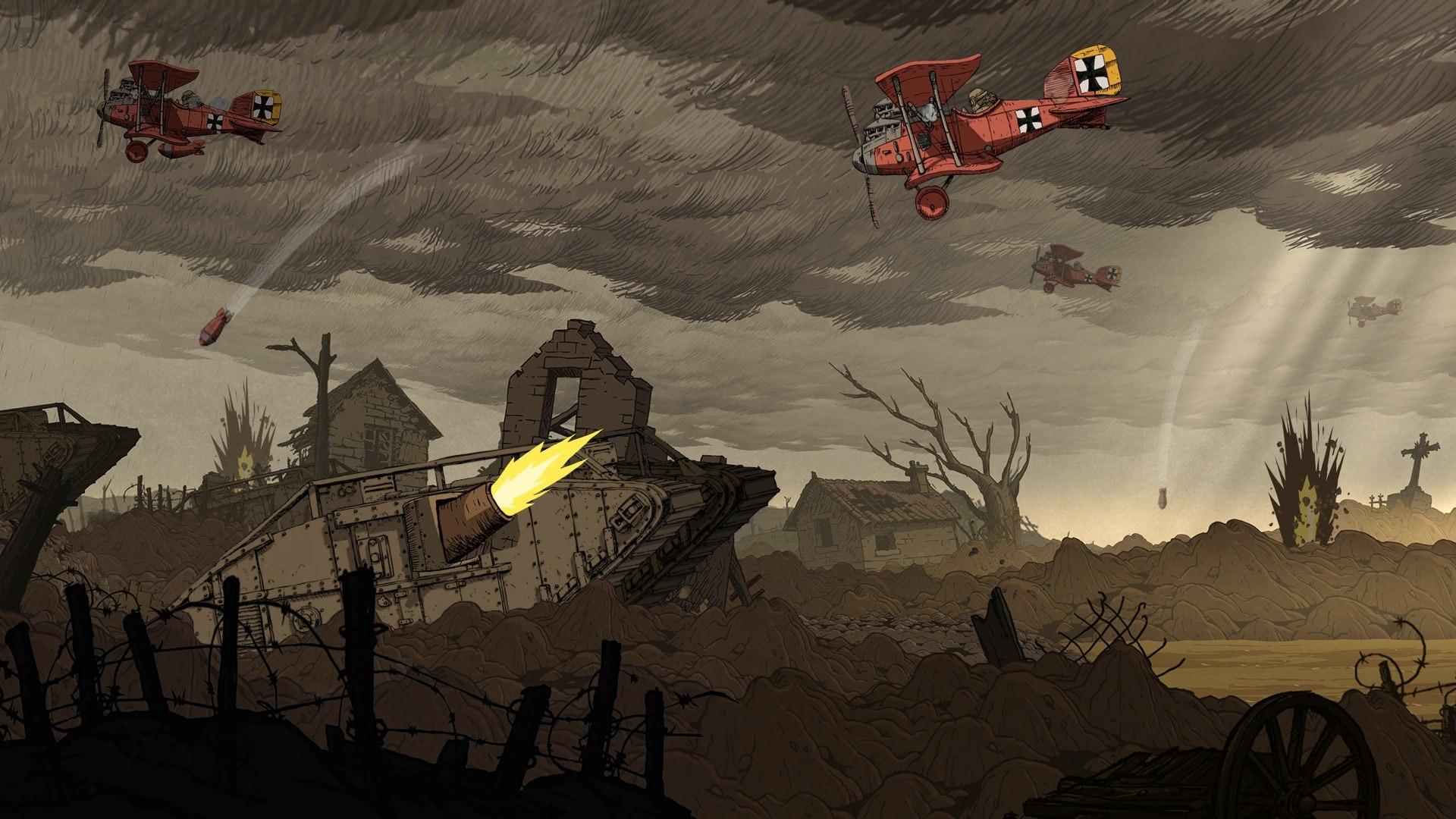 اکانت اریجینال یوپلی بازی Valiant Hearts: The Great War | با ایمیل اکانت