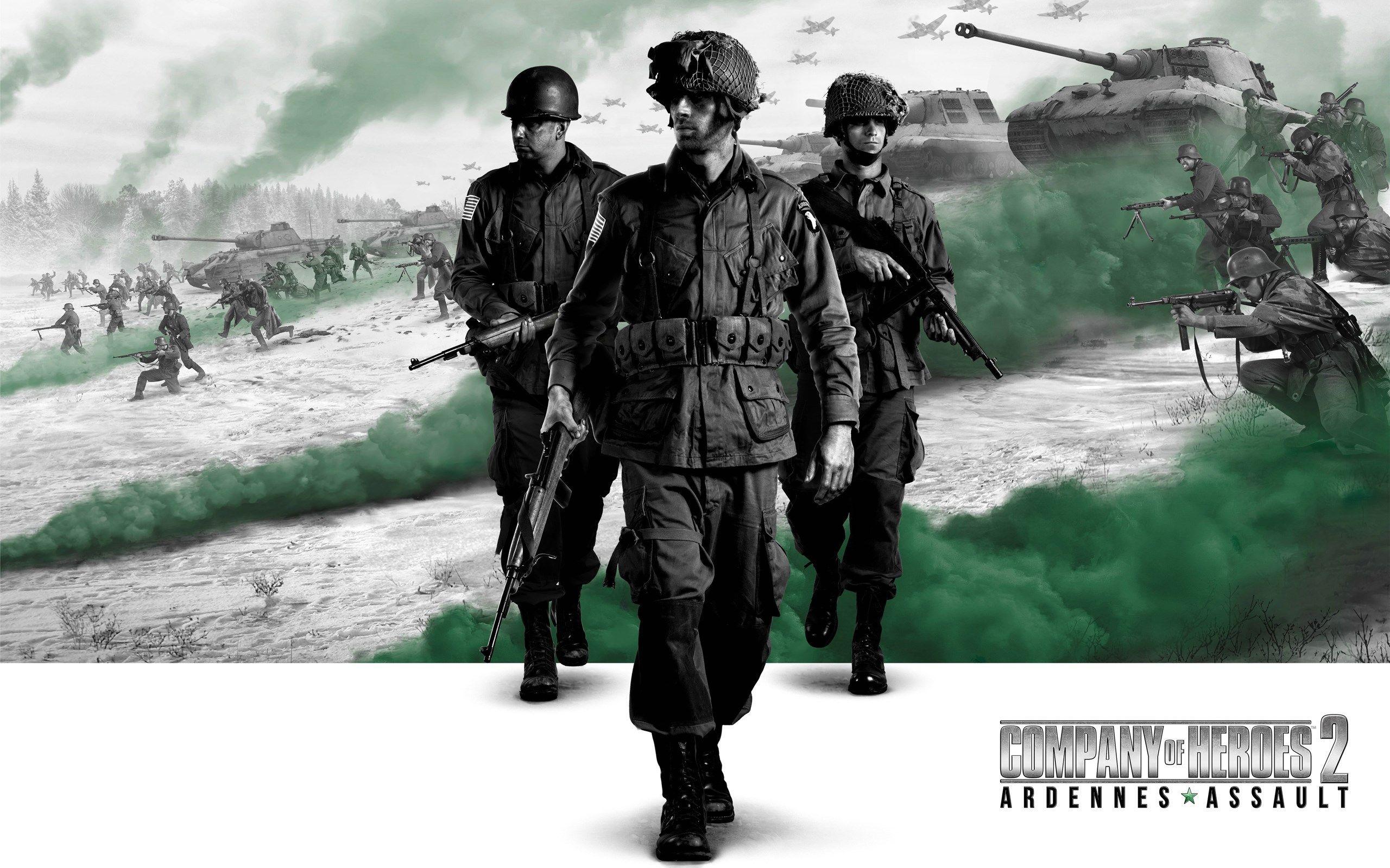 اکانت اریجینال استیم بازی Company Of Heroes 2 + Ardennes Assault | با ایمیل اکانت