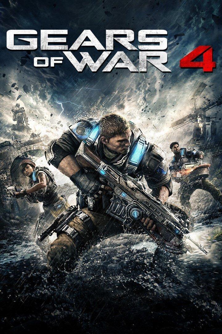 سی دی کی اریجینال بازی Gears Of War 4