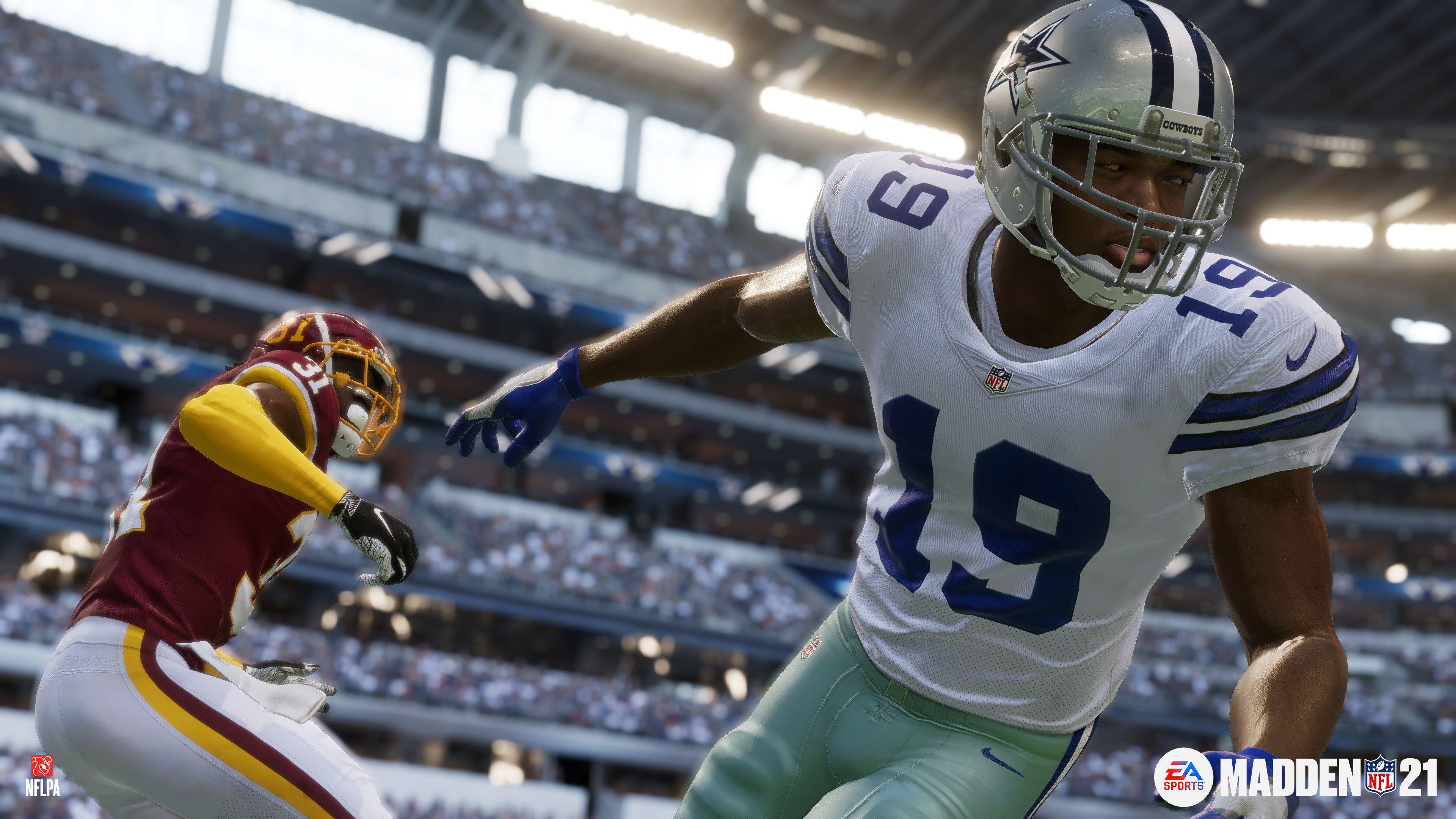 سی دی کی اریجینال بازی Madden NFL 21