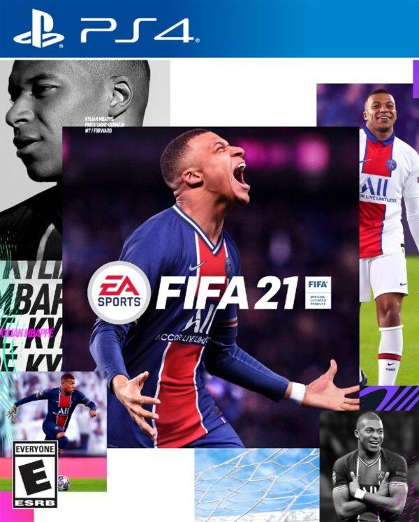اکانت قانونی بازی FIFA 21 برای PS4 / PS5   ریجن 1