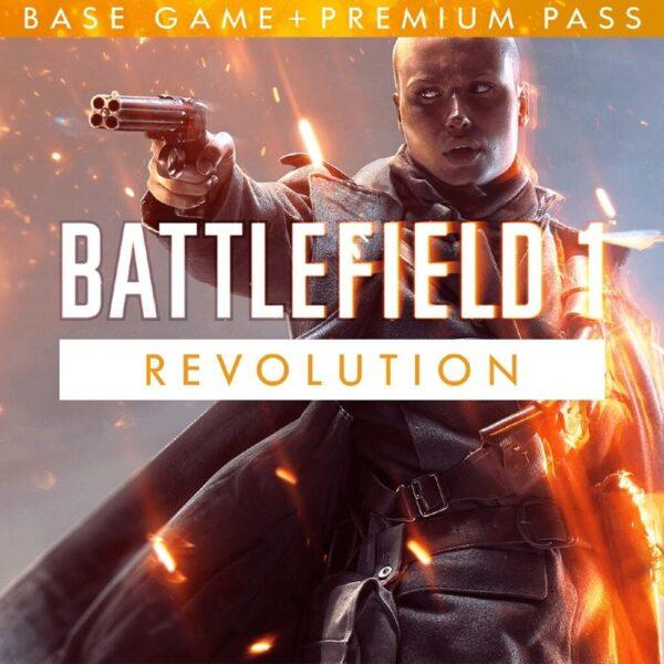 سی دی کی اریجینال بازی Battlefield 1 Revolution Edition