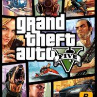 سی دی کی اریجینال بازی Grand Theft Auto V | ریجن روسیه
